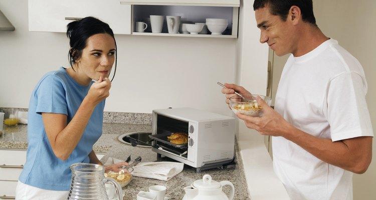 Utilizando o forno elétrico