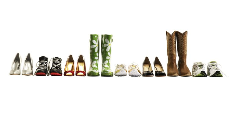 Pair wrap dresses with a variety of shoe types.