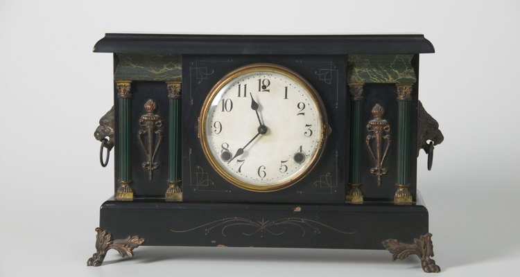 Old clocks need to be cleaned regularly.