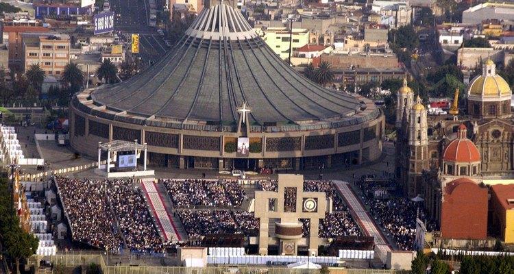 Basílica de la Virgen de Guadalupe.