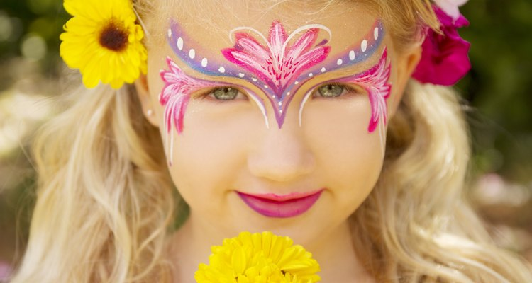 Set up a face painting booth at your festival.