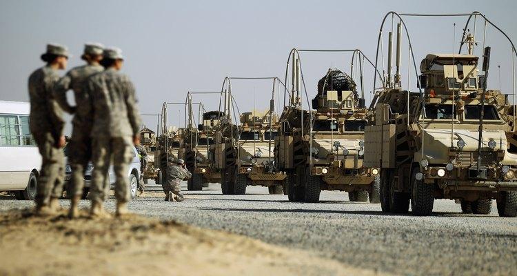Campamento Virginia en Kuwait.