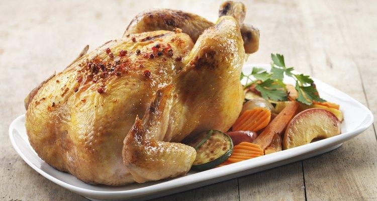 Cómo preparar pollo en un horno tostador.