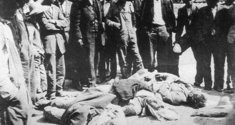 Víctimas de la guerra.