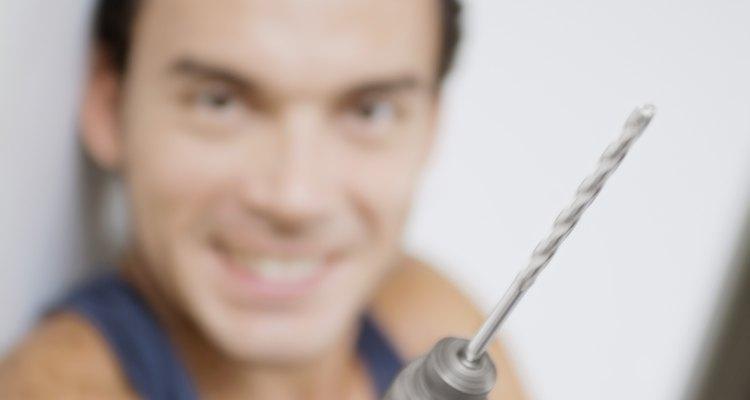 Twist bits are ideal for cutting hard plastics.