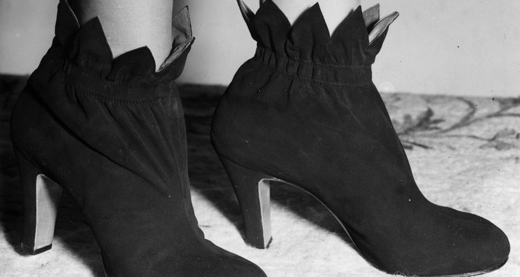 Suede Bootee