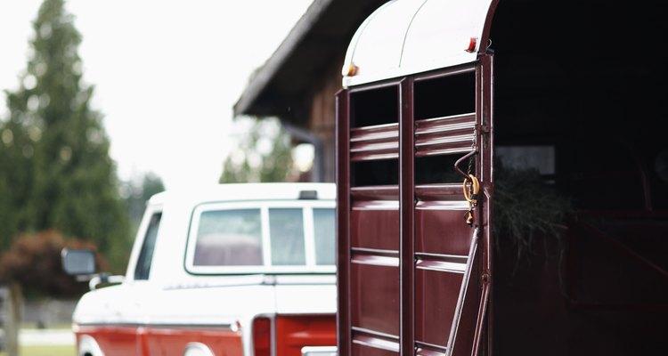 Tendo a caminhonete certa, pode-se puxar um trailer de cavalos com segurança