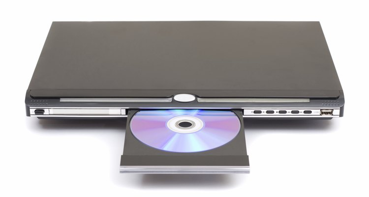 Isolated Generic DVD Player