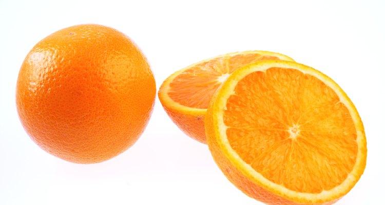 as características da laranja indicam sua doçura