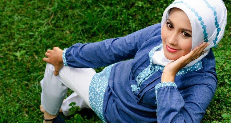 Vestimenta para mujeres musulmanas.