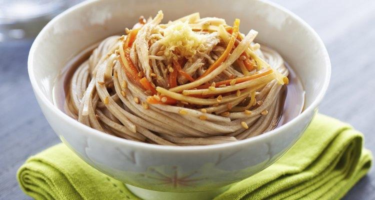 Japanese buckwheat noodle