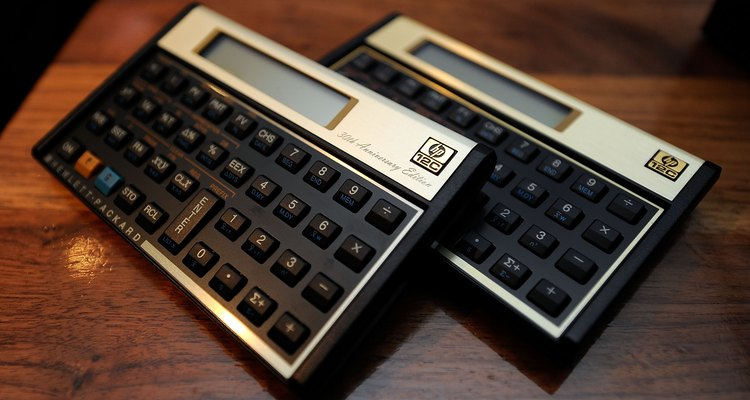 Para praticar, use uma calculadora