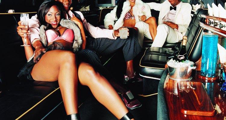 Luxury: limo