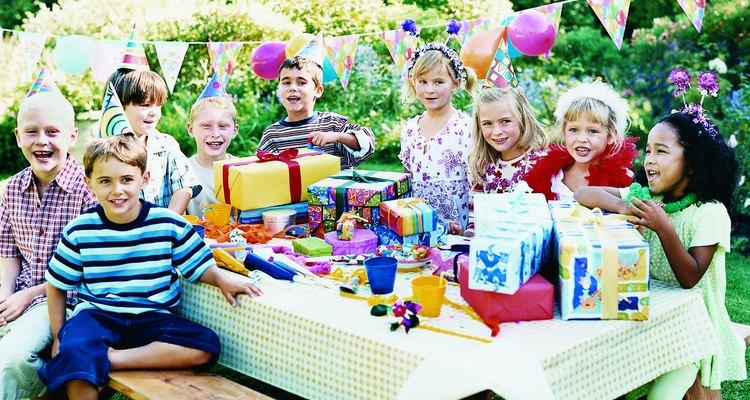 Haz increible la fiesta de cumpleaños de cuatro de tu hijo.