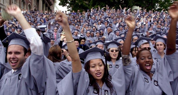 Formatura da turma de 2001 da Universidade de Columbia