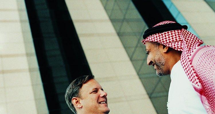 Saludos en la cultura árabe.