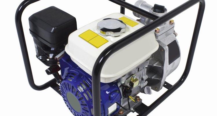 Los generadores requieren un arranque de pequeña corriente eléctrica para comenzar a funcionar.