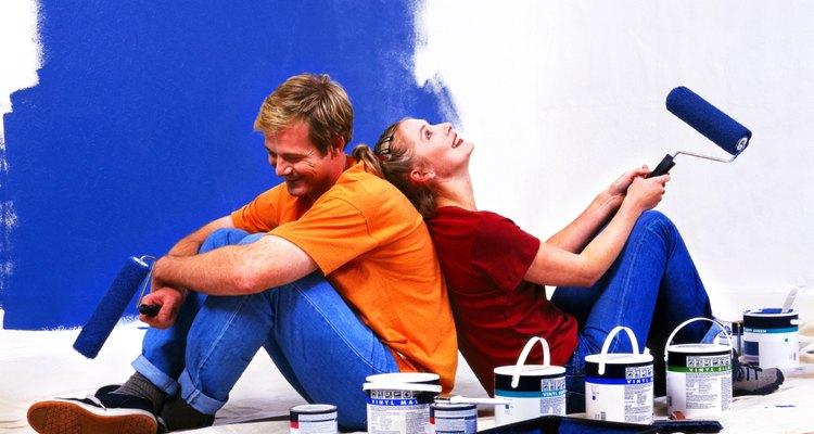 Divirta-se pintando a parede