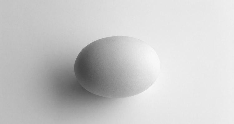 Existem dois métodos principais de calcular o volume de um ovo
