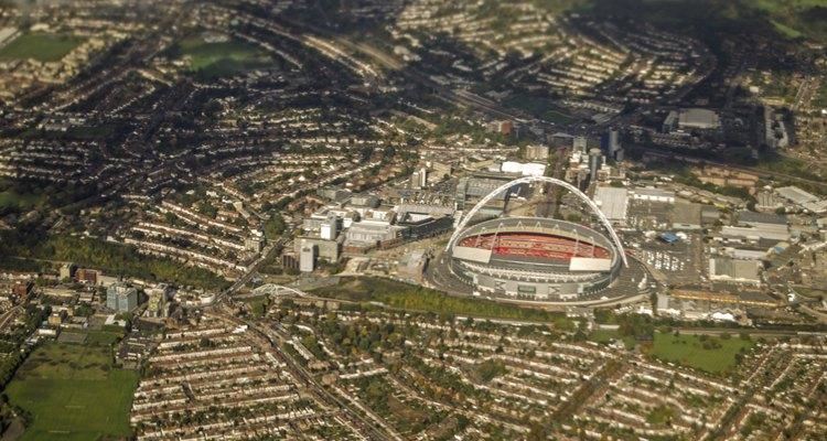 Try to model Wembley stadium.
