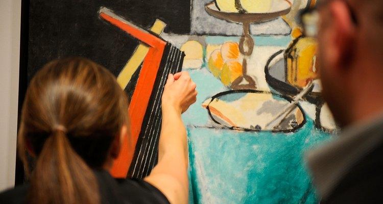 Matisse frequentemente pintava objetos do dia-a-dia