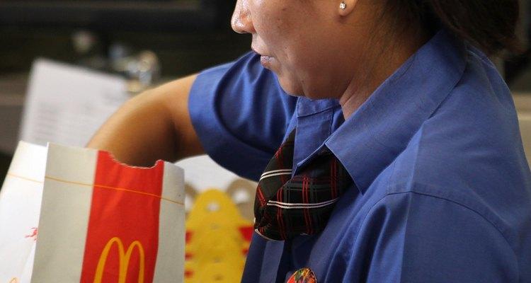Muchos gerentes de McDonalds empezaron como miembros del equipo.