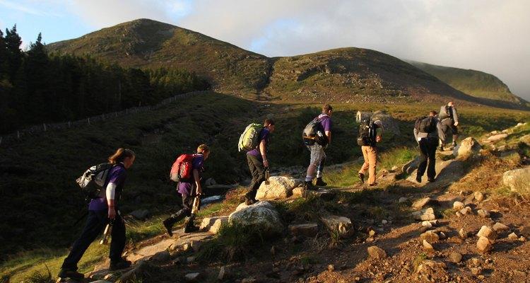 Northern Ireland's County Down tiene impresionantes vistas a las colinas para gratificar a los ambiciosos excursionistas.
