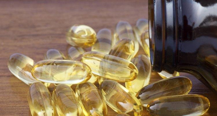 Tome os suplementos de óleo de peixe com alimentos