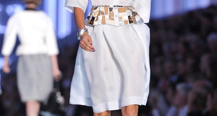 Modelo de Christian Dior para primavera/verão de 2012