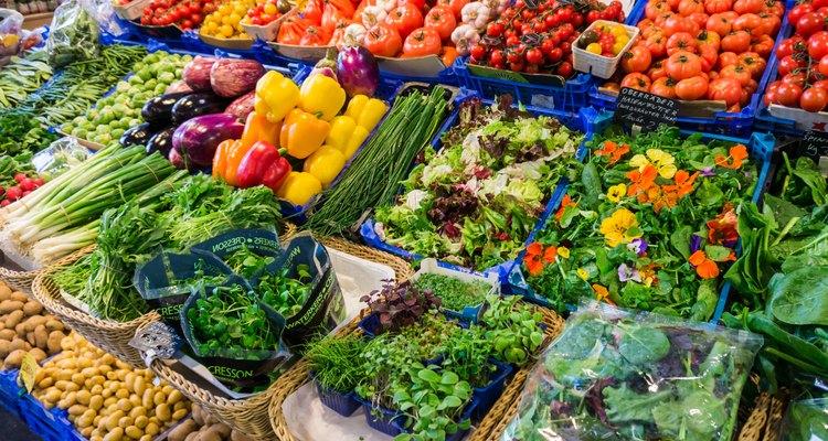 Fresh vegetables market.   farmers market