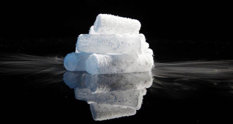 Gelo seco é frio