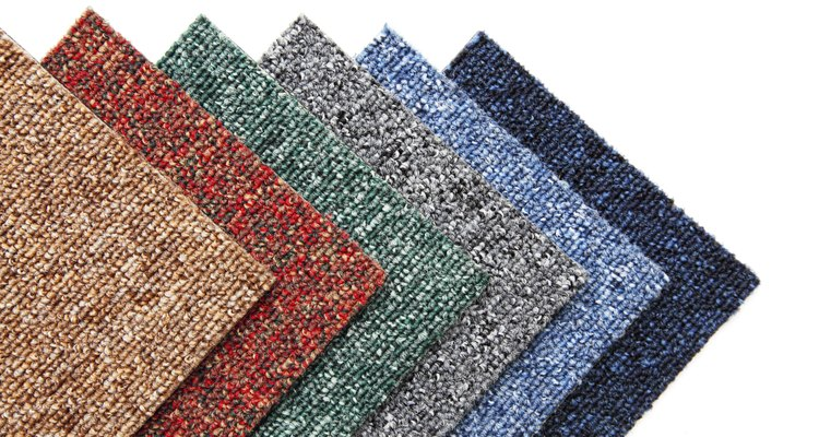 Carpet tiles are very functional, but they don't need to be glued down.