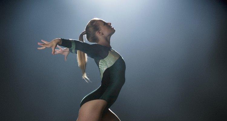 A reversão frontal é um dos movimentos simples da ginástica olímpica