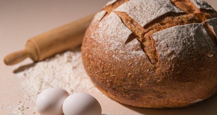 Artisan loaf bread