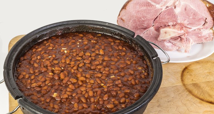 Baked Beans and Ham
