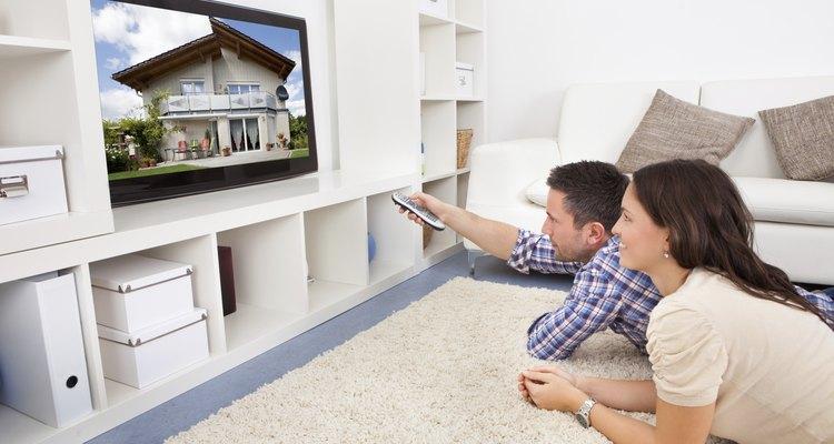 Desfrute da sua televisão sem receptores de cabo desagradáveis