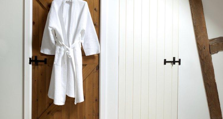 Haz tu propia bata de baño.