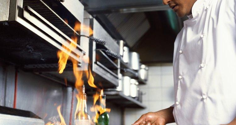 El aceite de canola no es un aceite de cocina inflamable.