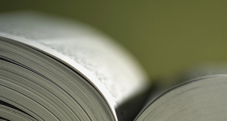 Libro abierto.