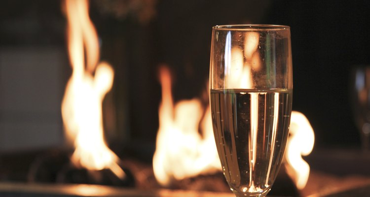 Champagne and Fire