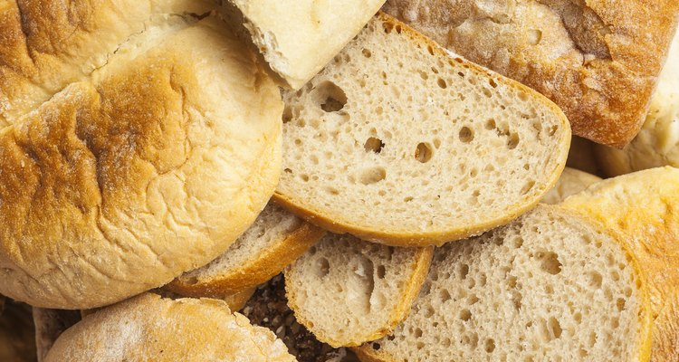 Stale bread and other baked goods.