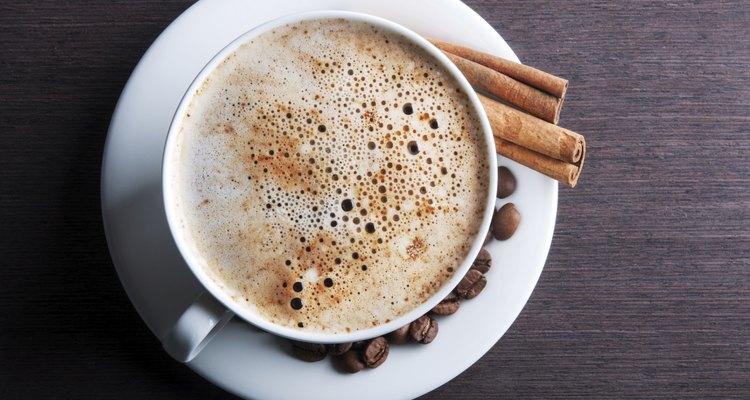 Un café delicioso.