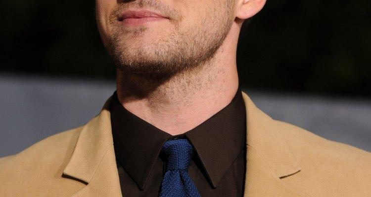 Justin Timberlake lució una corbata de seda en el estreno de una película en el 2011.