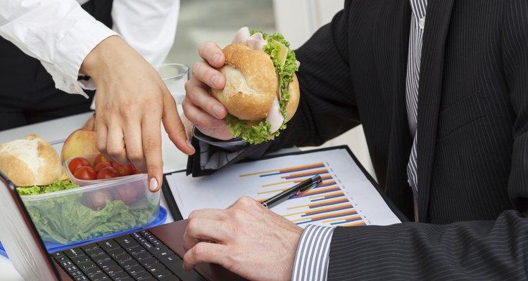 Separe tempo para realizar suas refeições