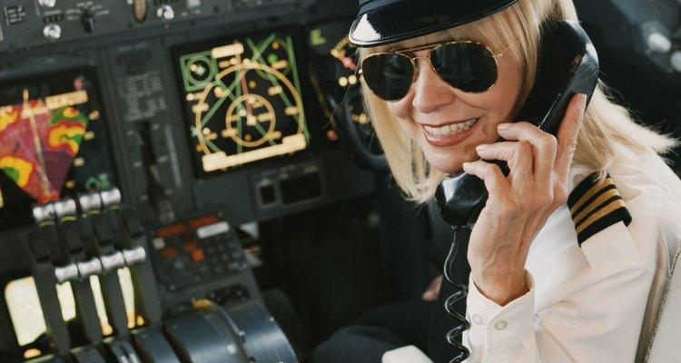 Entrenamiento para ejercer como piloto.