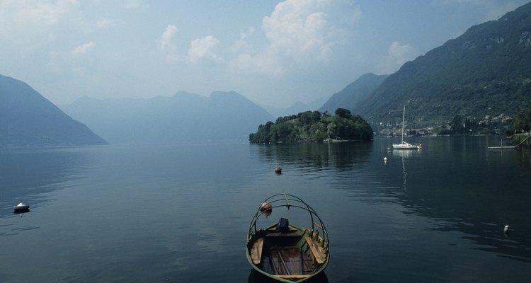 El lago Como es uno de los destinos vacacionales más famosos de Italia.