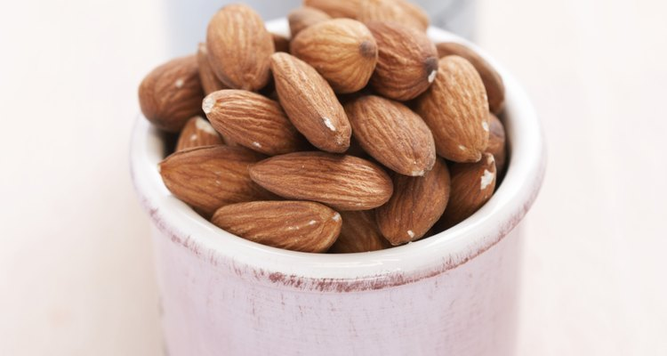 Freeze almonds and walnuts for later use.