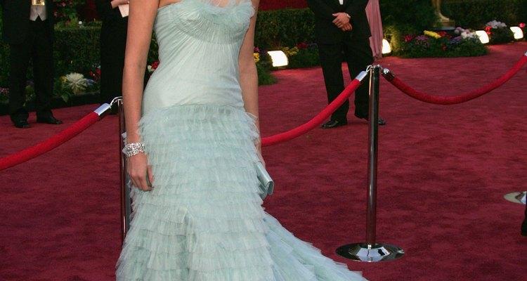 Charlize Theron usou Dior Couture no Oscar 2005