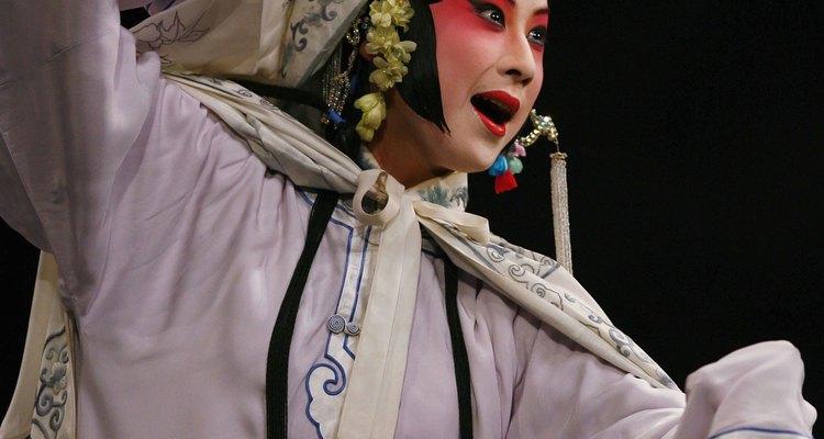 Atriz da Ópera Kunku em Pequim em 2006