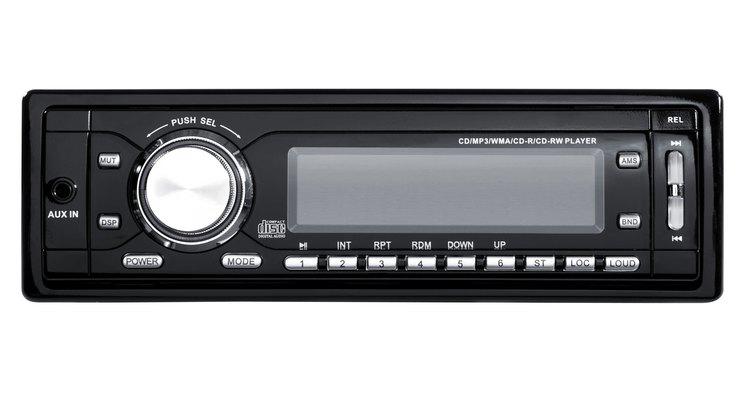 O fio remoto de som de carro é usado para fornecer um sinal de baixo nível de 12 volts
